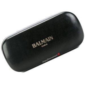 🎤🆕 Balmain ღ Sunglass Case ღ Black + Gold Foil